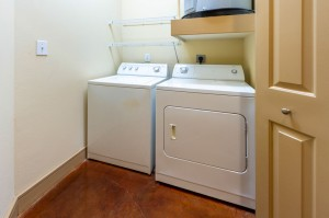 Two Bedroom Apartments for Rent in Houston, TX - Model Laundry Room